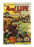 Golden Age (1938-1955):Non-Fiction, Real Life Comics #52 (Nedor Publications, 1950) Condition: FN-....