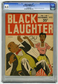 Magazines:Humor, Black Laughter #1 (Black Laughter Publishing, 1972) CGC VF+ 8.5Off-white pages....