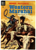 Golden Age (1938-1955):Western, Four Color #640 Western Marshal - Circle 8 pedigree (Dell, 1955) Condition: VF/NM....