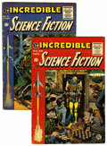 Golden Age (1938-1955):Science Fiction, Incredible Science Fiction #31 and 32 Group (EC, 1955).... (Total:2 Comic Books)