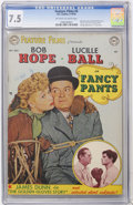 Golden Age (1938-1955):Miscellaneous, Feature Films #4 Fancy Pants (DC, 1950) CGC VF- 7.5 Off-white to white pages....