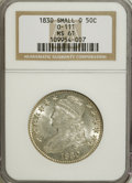 Bust Half Dollars, 1830 50C Small 0 MS61 NGC....