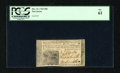 Colonial Notes:New Jersey, New Jersey December 31, 1763 18d PCGS New 61....