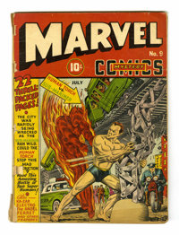 Marvel Mystery Comics #9 (Timely, 1940) Condition: PR