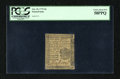 Colonial Notes:Pennsylvania, Pennsylvania October 25, 1775 4d PCGS Choice About New 58PPQ....