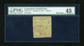 Colonial Notes:Connecticut, Connecticut October 11, 1777 5d PMG Choice Extremely Fine 45EPQ....
