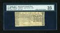 Colonial Notes:Maryland, Maryland April 10, 1774 $2/3 PMG Very Fine 25....