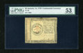 Colonial Notes:Continental Congress Issues, Continental Currency January 14, 1779 $3 PMG About Uncirculated53....