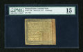 Colonial Notes:Pennsylvania, Pennsylvania March 20, 1771 5s PMG Choice Fine 15....