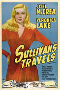 "Movie Posters:Comedy, Sullivan's Travels (Paramount, 1941). One Sheet (27"" X 41"") StyleA...."