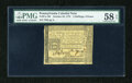 Colonial Notes:Pennsylvania, Pennsylvania October 25, 1775 2s/6d PMG Choice About Unc 58 EPQ....