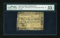 Colonial Notes:South Carolina, South Carolina December 23, 1777 (erroneously dated) $2 PMG AboutUncirculated 55 EPQ....