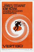"Movie Posters:Hitchcock, Vertigo (Paramount, 1958). One Sheet (27"" X 41"")...."