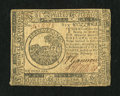 Colonial Notes:Continental Congress Issues, Continental Currency February 17, 1776 $6 Fine....