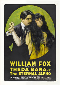 "The Eternal Sapho (Fox, 1916). One Sheet (30"" X 41.5"")"