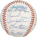 Autographs:Baseballs, 1997 New York Yankees Team Signed Baseball. Always a popularcollection of players, the New York Yankees are her represente...
