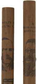 Political:Miscellaneous Political, Roosevelt and Parker: Pair of 1904 Presidential CampaignPencils.... (Total: 2 Items)