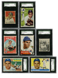Baseball Cards:Lots, 1948-59 SGC Graded Yogi Berra Cards Group Lot of 7.... (Total: 7cards)