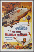 "Movie Posters:Science Fiction, Master of the World (American International, 1961). One Sheet (27""X 41""). Science Fiction...."