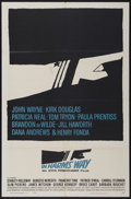 "Movie Posters:War, In Harm's Way (Paramount, 1965). One Sheet (27"" X 41""). War...."