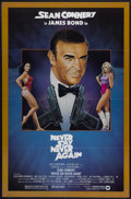 """Movie Posters:James Bond, Never Say Never Again (Warner Brothers, 1983). One Sheet (27"""" X 41""""). James Bond...."""
