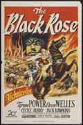 "Movie Posters:Adventure, The Black Rose (20th Century Fox, 1950). One Sheet (27"" X 41"").Adventure...."