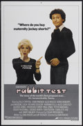 """Movie Posters:Comedy, Rabbit Test (Avco Embassy, 1978). One Sheet (27"""" X 41"""") Style B. Comedy...."""
