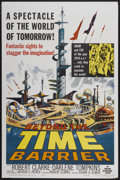 """Movie Posters:Science Fiction, Beyond the Time Barrier (American International, 1959). One Sheet(27"""" X 41""""). Science Fiction...."""
