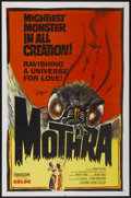 "Movie Posters:Science Fiction, Mothra (Columbia, 1962). One Sheet (27"" X 41""). Science Fiction...."