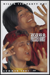 """Bill & Ted's Bogus Journey (Orion, 1991). One Sheet (27"""" X 41"""") SS Advance Style A. Comedy"""