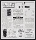 Movie Posters:Science Fiction, 12 to the Moon/The Electronic Monster Combo (Columbia, 1960). Pressbook (Multiple Pages). Science Fiction....