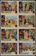 """Movie Posters:Science Fiction, Queen of Outer Space (Allied Artists, 1958). Lobby Card Set of 8(11"""" X 14""""). Science Fiction.... (Total: 8 Items)"""