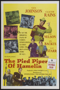 "Movie Posters:Musical, Pied Piper of Hamelin, The (International Film Distributors, 1961). One Sheet (27"" X 41""). Musical...."
