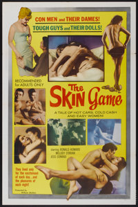 """The Skin Game (William Mishkin Motion Pictures Inc., 1965). One Sheet (27"""" X 41""""). Adult"""