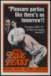 "The Love Feast (Globe Pictures, 1961). One Sheet (27"" X 41""). Melodrama"