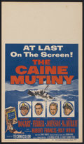 "Movie Posters:War, The Caine Mutiny (Columbia, 1954). Window Card (14"" X 22""). War...."