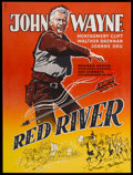 """Movie Posters:Western, Red River (United Artists, 1948). Swedish One Sheet (24.5"""" X 33""""). Western...."""