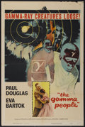 """Movie Posters:Science Fiction, The Gamma People (Columbia, 1956). One Sheet (27"""" X 41""""). ScienceFiction...."""