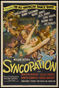 """Movie Posters:Musical, Syncopation (RKO, 1942). One Sheet (27"""" X 41""""). Musical...."""