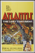 "Movie Posters:Adventure, Atlantis, the Lost Continent (MGM, 1961). One Sheet (27"" X 41"").Adventure...."