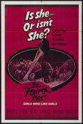 "Movie Posters:Adult, The Fourth Sex (Audubon, 1962). One Sheet (28"" X 42""). Adult...."