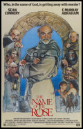 """Movie Posters:Mystery, The Name of the Rose (20th Century Fox, 1986). One Sheet (27"""" X41""""). Mystery...."""