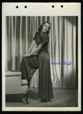 "Movie Posters:Miscellaneous, Marsha Hunt Publicity Still (Paramount, 1937). Autographed Keybook Still (8"" X 11""). ..."