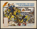 "Movie Posters:Western, The Alamo (United Artists, 1960). Half Sheet (22"" X 28""). Western...."