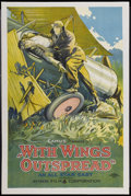 "Movie Posters:Adventure, With Wings Outspread (Aywon Film, 1922). One Sheet (26.5"" X 40"").Adventure...."
