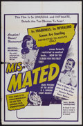 """Movie Posters:Documentary, Mis-Mated (Federated, 1952). One Sheet (27"""" X 41""""). Documentary...."""