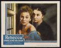 """Movie Posters:Hitchcock, Rebecca (United Artists, 1940). Lobby Card (11"""" X 14"""").Hitchcock...."""