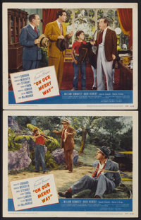 "On Our Merry Way (United Artists, 1948). Lobby Cards (2) (11"" X 14""). Comedy.... (Total: 2 Items)"