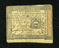 Colonial Notes:Pennsylvania, Pennsylvania October 1, 1773 5s Very Fine....