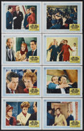 """Movie Posters:Hitchcock, Torn Curtain (Universal, 1966). Lobby Card Set of 8 (11"""" X 14"""").Hitchcock.... (Total: 8 Items)"""